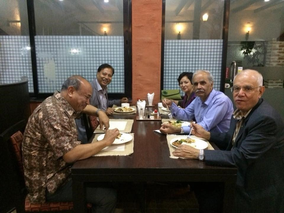 Dinner after the interaction on 30 April 2018-min